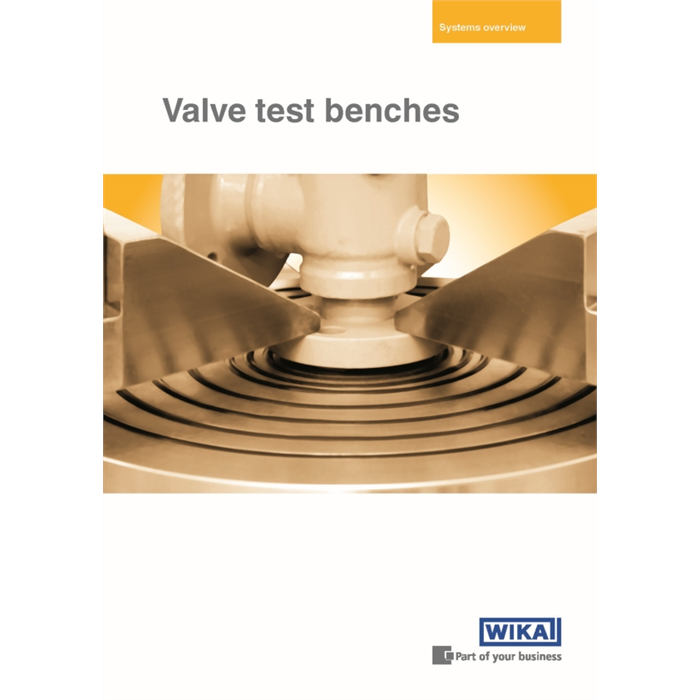 "Nuova brochure ""Valve test benches"""